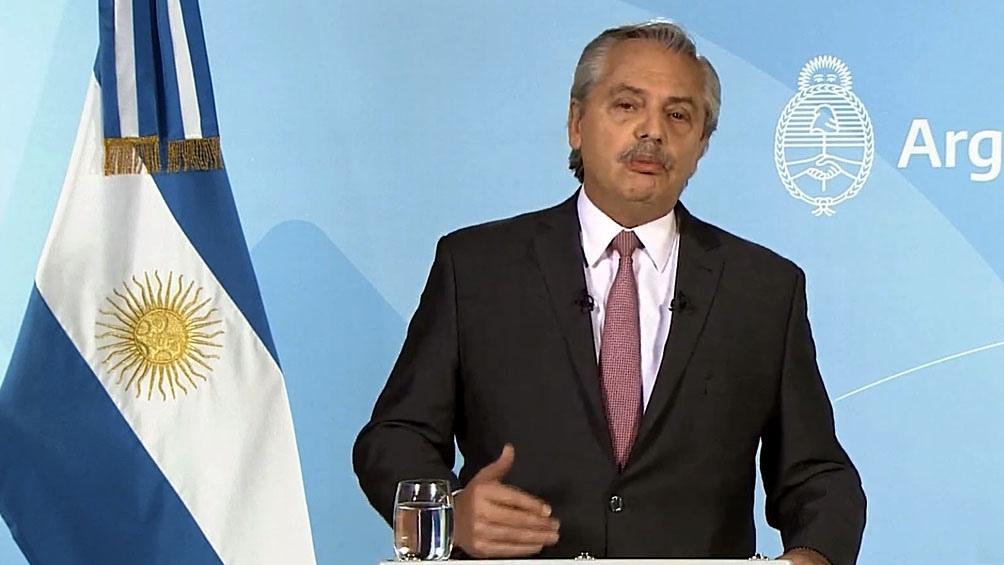 """El Presidente sostuvo que """"caminamos hacia la segunda recuperación"""". (Foto: Presidencia)"""