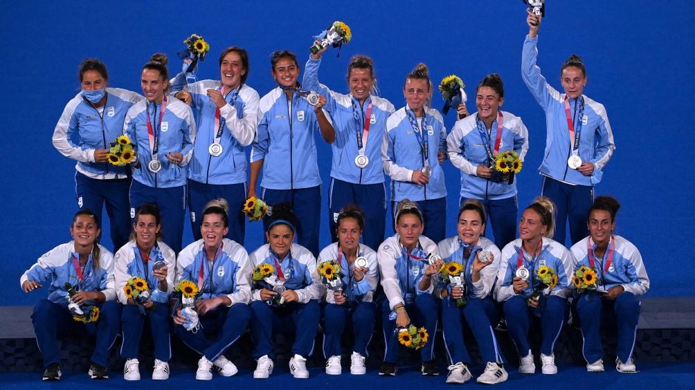 Leonas y la medalla de plata.