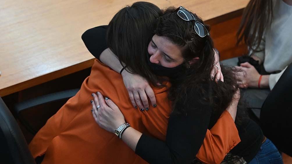 María Eugenia habló de la importancia de denunciar estos casos y de que el Estado brinde respuestas acordes. Foto: Sebastián Granatta