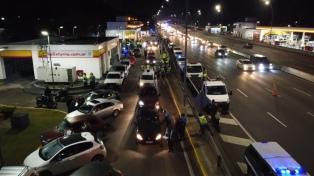 Ocho automóviles y siete motocicletas incautadas en un operativo contra las picadas