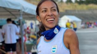Marcela Gómez completó el Maratón femenino en Sapporo