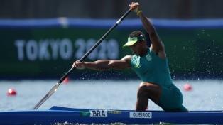 Oro para Brasil en canoa individual masculina de 1.000 metros