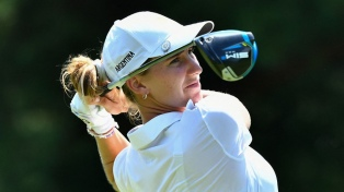 Golf: Simmermacher culminó en la posición 58