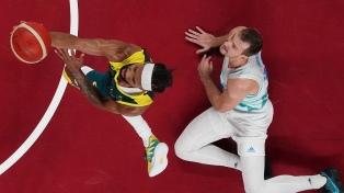 Australia venció a Eslovenia y ganó la medalla de bronce en el básquetbol