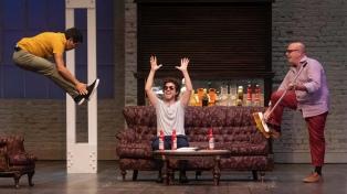 Campi: hace TV y estrenó en cine, pero el teatro es lo que más le gusta