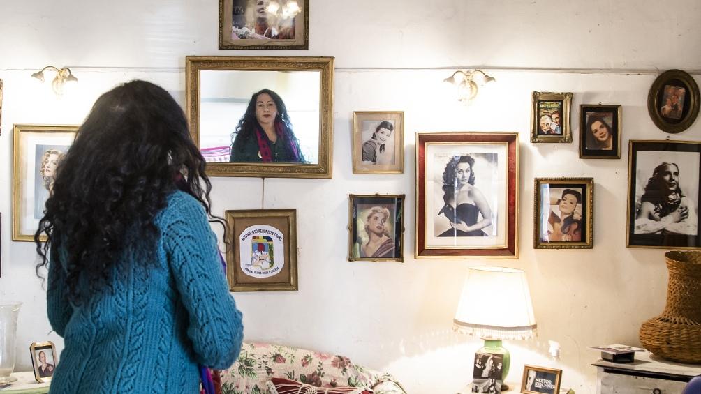 """""""Empecé a militar en el 2008, en el conflicto del campo"""" recuerda Paula Arraigada. Foto: Leo Vaca"""
