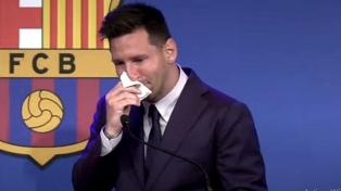 Las frases más destacadas de la despedida de Messi