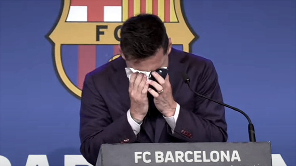 Messi se despidió de Barcelona con