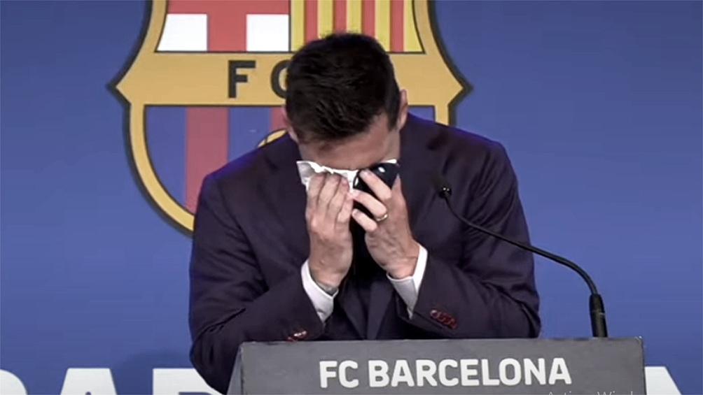 """Admitió que todavía permanece """"bloqueado"""" por su inesperada despedida de Barcelona."""