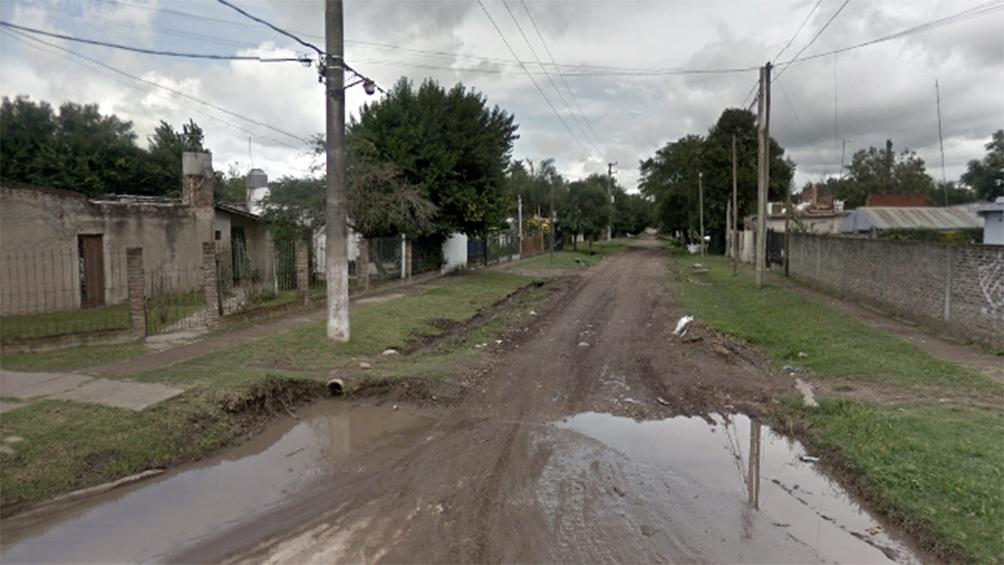El hecho se registró el sábado, alrededor de las 19, en el cruce de las calles Los Geranios y Álvarez Jonte, en Mariano Acosta.