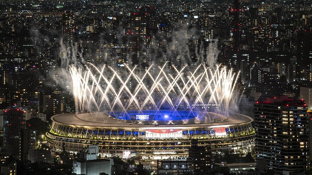 La fiesta de cierre de Tokio 2020.