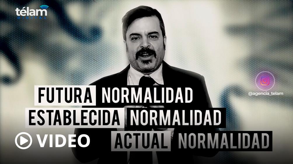 Noticias de hoy presentadas como en el ayer: la nueva normalidad