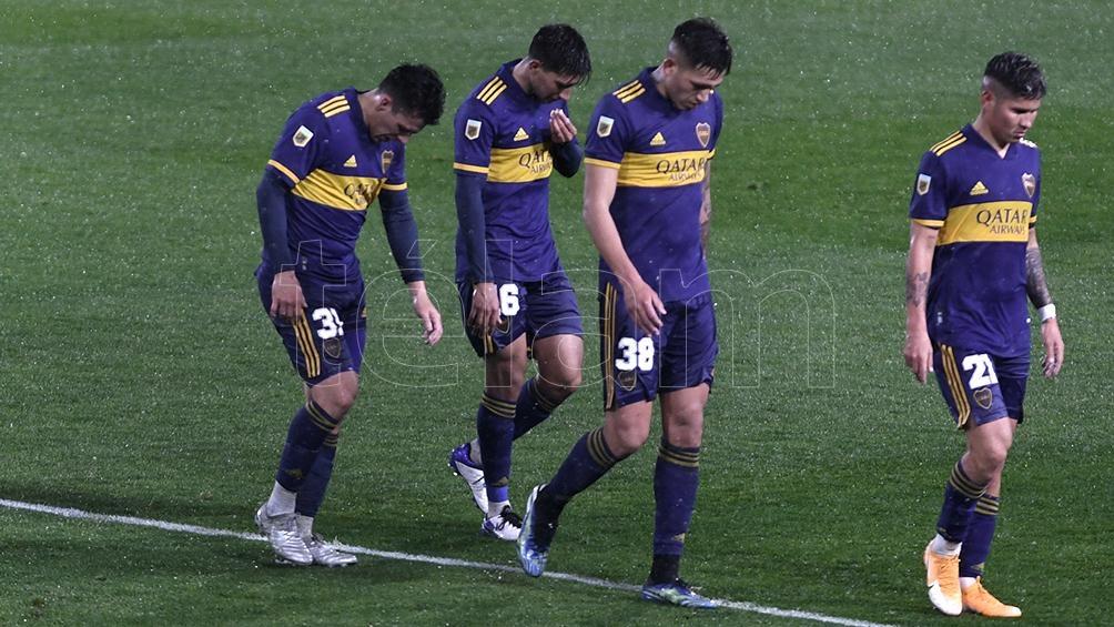 Boca y otra frustración ante Argentinos.