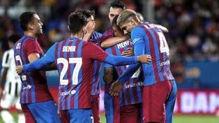 Barcelona arrancó su Nueva Era sin Messi con una goleada sobre Juventus en la Joan Gamper