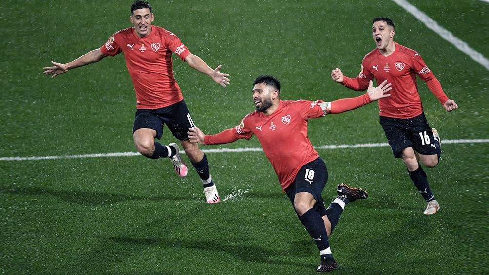Independiente tiene 15 puntos en el torneo. Foto: Fernando Gens.