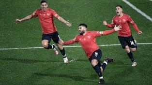 Independiente le ganó el clásico a Racing y quedó como único puntero del torneo