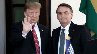 Un hijo de Bolsonaro invitó a Trump a un encuentro de movimientos de extrema derecha
