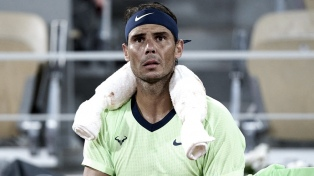 Nadal anunció que no jugará durante el resto de la temporada debido a su lesión en el pie