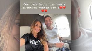 """""""Antonela me banca y acompaña a donde sea"""", destacó Messi de su esposa"""