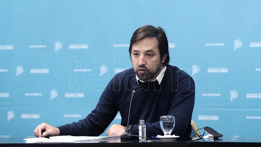 Kreplak destacó el levantamiento de una serie de restricciones.