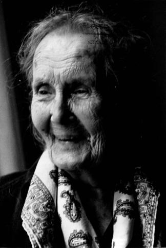 Alicia Moreau Foto: Archivo General de la Nación