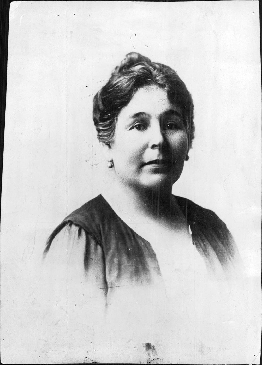 Elvira Rawson. Foto: Archivo General de la Nación