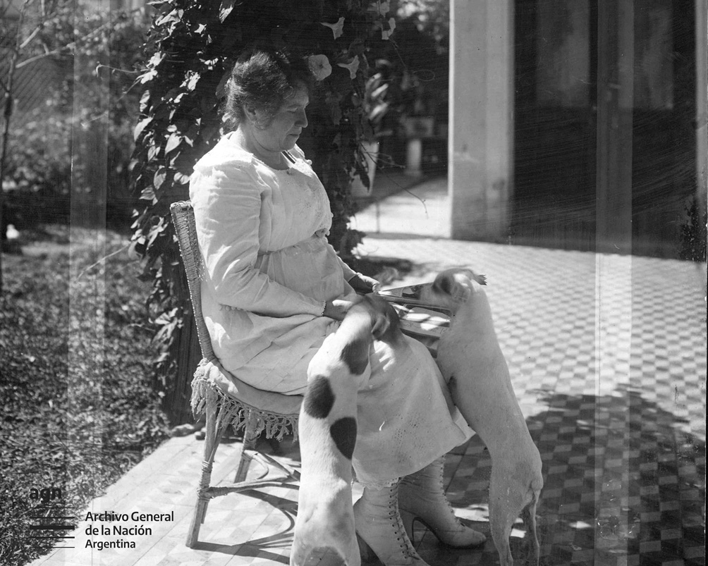Julieta Lanteri. Foto: Archivo General de la Nación