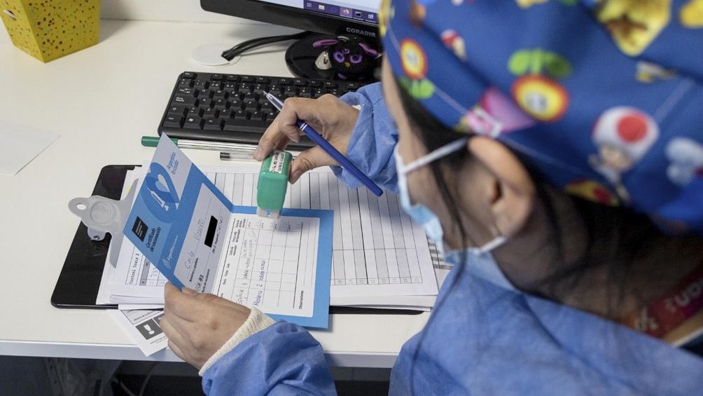 """Nicolini: """"La Argentina tiene más personas inoculadas con dos dosis que con una"""""""