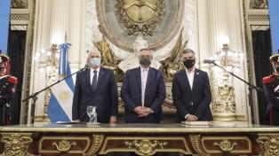 "Fernández afirmó que a Taiana y Zabaleta ""les sobran los méritos"" para ser ministros"