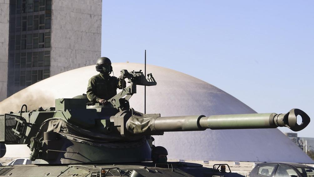 El exdiputado es uno de los principales defensores de una intervención militar en el Supremo Tribunal Federal. Foto: Pedro Franca