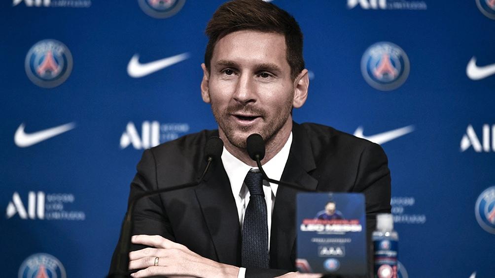 """Messi: """"Quiero jugar lo antes posible"""". (Foto: AFP)"""