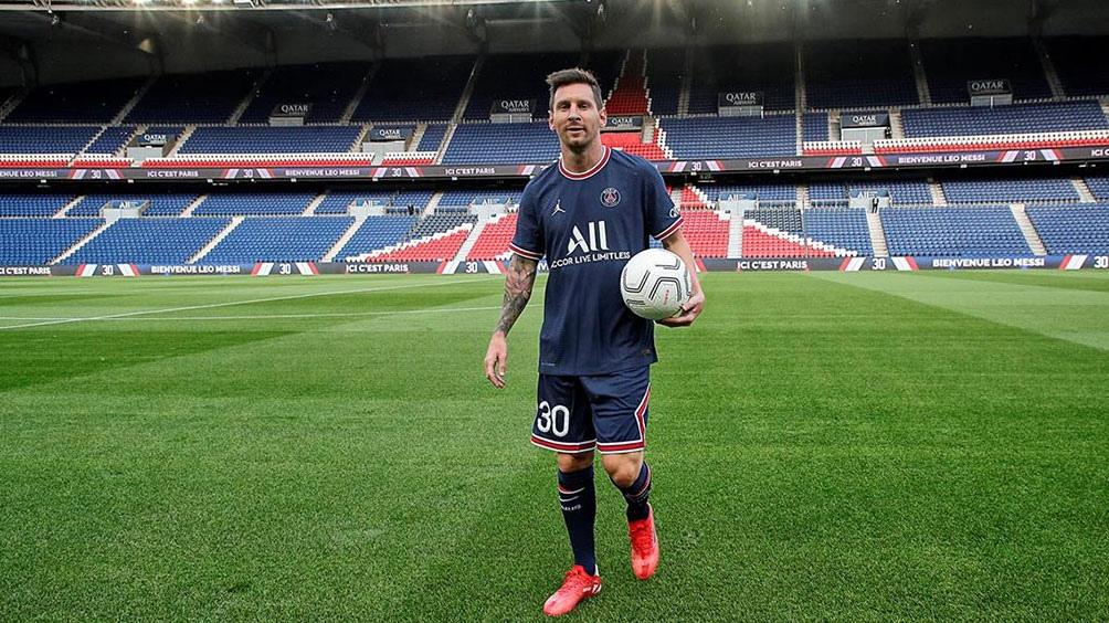 Lionel Messi debutaría el 29 de agosto (foto PSG).