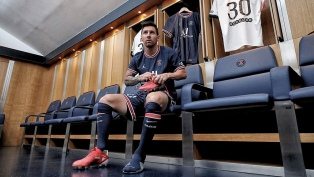 """Messi ya posteó como futbolista de PSG: """"Trabajaremos por cumplir los objetivos"""""""