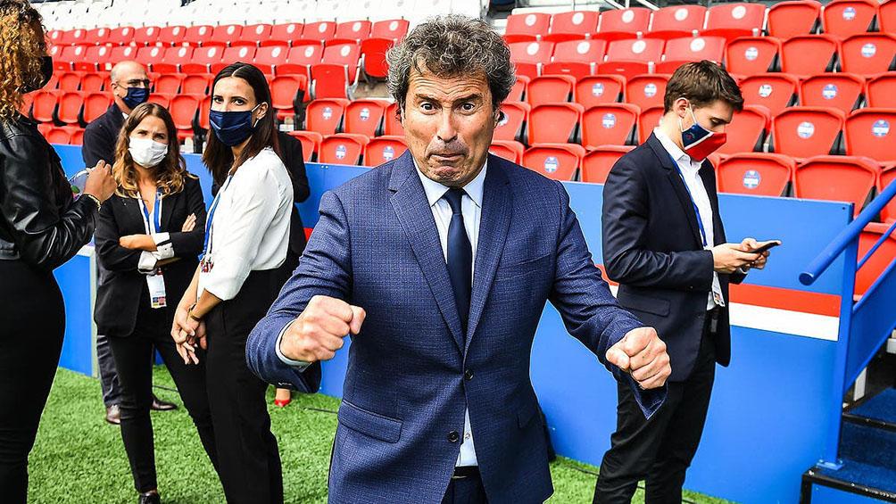 El exfutbolista argentino Da Fonseca
