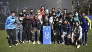 Se firmó el acuerdo para que los medios públicos televisen la Liga Femenina de Fútbol