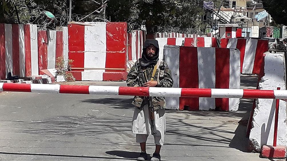 Los rebeldes iniciaron su ofensiva en mayo, cuando el presidente estadounidense, Joe Biden, confirmó que las tropas extranjeras saldrían del país alrededor del 31 de agosto. Foto: AFP.