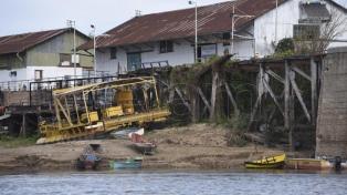 Obras por $1.000 millones para asistir a localidades afectadas por la bajante del Paraná