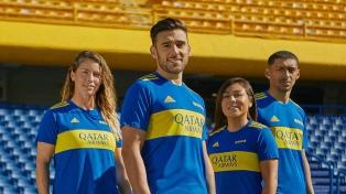 Boca lanza su nueva camiseta, que rememora la que usó Maradona en el título de 1981