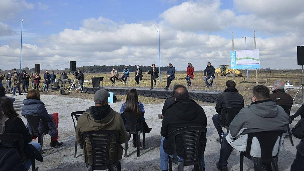 El Gobierno bonaerense llevará a cabo las gestiones para desarrollar allí la infraestructura necesaria para hacer viviendas. Foto: Prensa Gobierno Provincia Buenos Aires