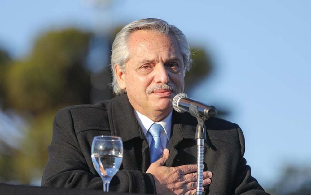 El Presidente lamentó la reunión social en Olivos en julio del año pasado.