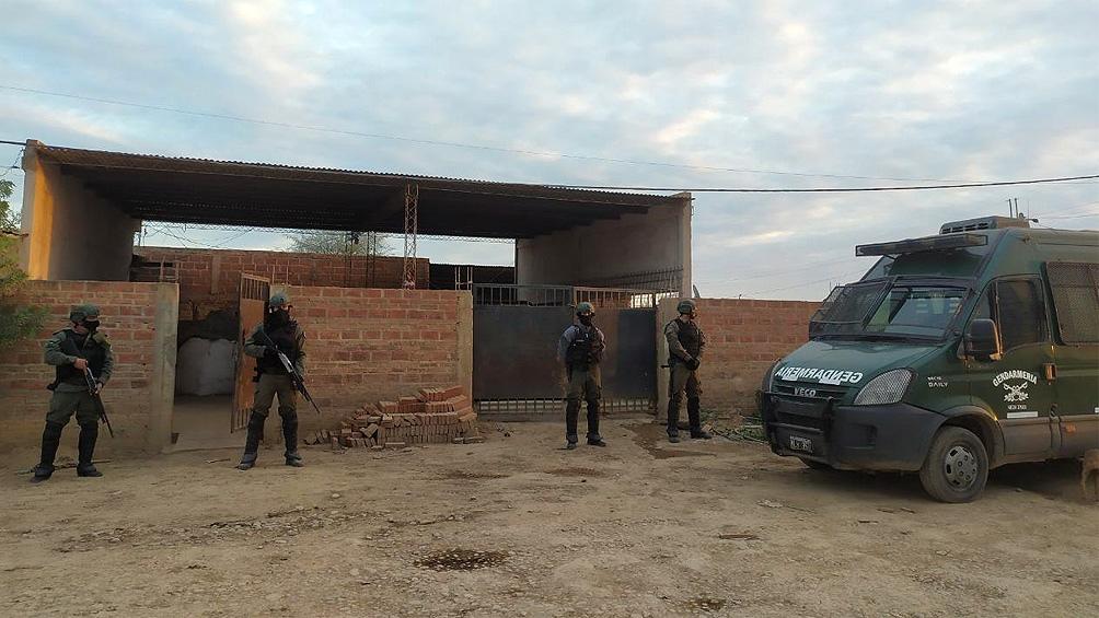 El operativo vinculó a las provincias de Formosa y Salta y el partido bonaerense de La Matanza.