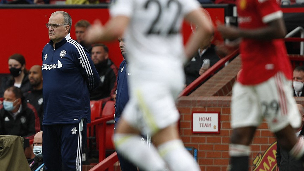 Marcelo Bielsa y el Leeds, sin rumbo en el torneo