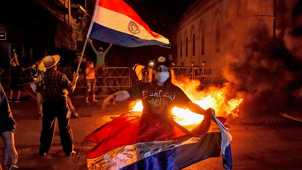 La serie de movilizaciones -con incidentes serios- a mitad de 2019 tuvo consecuencias notorias. Foto: AFP.