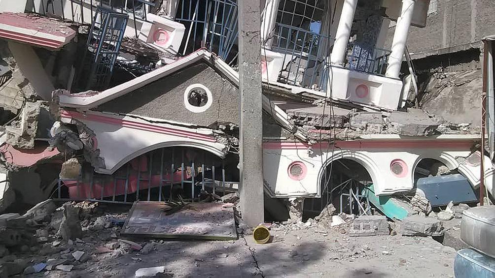 Un sismo de magnitud 7,2 sacudió Haití (Foto: @AbdielBonillaPR)