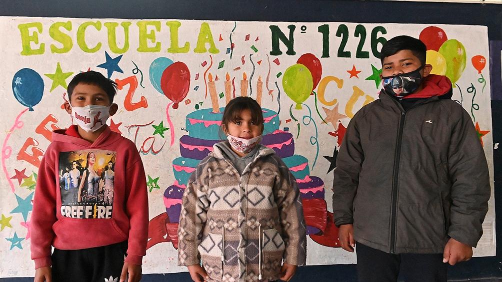 La Escuela N°1226 participa del programa nacional Acompañar-Puentes de igualdad, y del provincial Verano Activo.