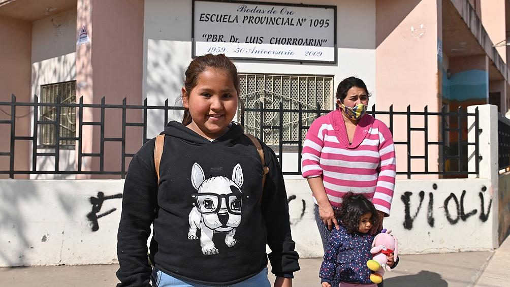 Brisa Núñez, una niña de 10 años, logró la revinculación luego de afrontar una mudanza.