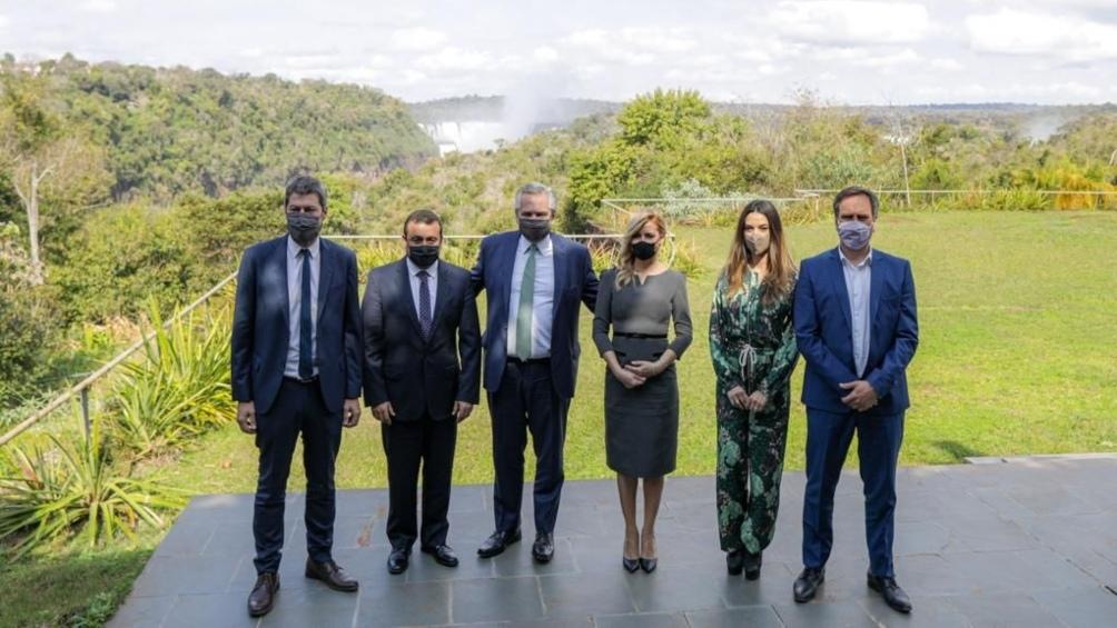 El Presidente presentó en el Parque Nacional Iguazú la segunda edición del programa Previaje 2021-2022.
