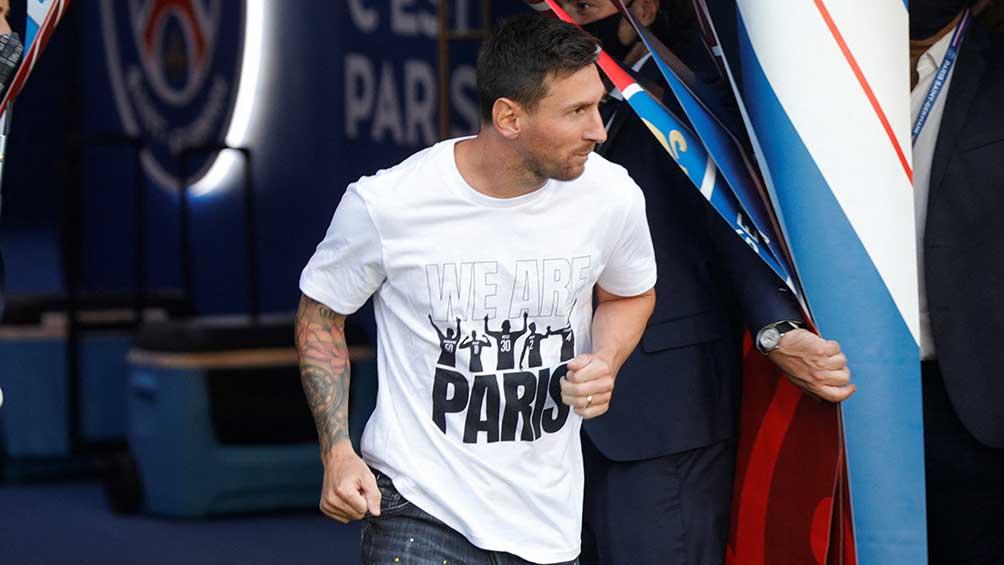 Messi pisó el Parque de los Príncipes para comenzar un nuevo reinado