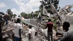 La misión argentina de Cascos Blancos comenzó la atención sanitaria en Haití