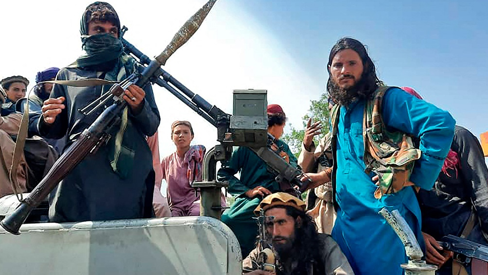 Talibanes anunciaron una amnistía general en todo Afganistán. Foto: AFP.